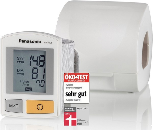 Picture of Panasonic EW 3006 blood pressure monitor