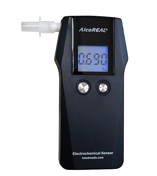 Picture of Breathalyzer AT575 / AlcoReal according Standard EN 16280