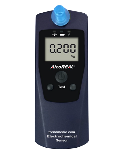 Picture of Breathalyzer AlcoREAL Cobra 588 / EN15964 / Modell 2018